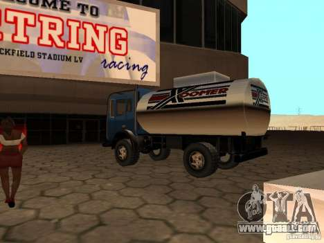 Dune Tank for GTA San Andreas back left view