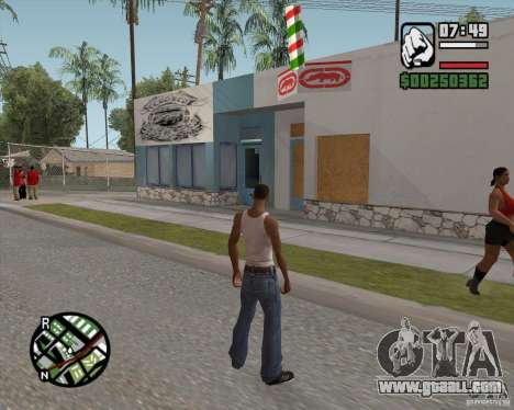 Shop Ecko for GTA San Andreas second screenshot