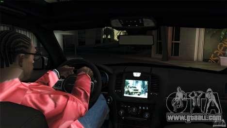 Chrysler 300C V8 Hemi Sedan 2011 for GTA San Andreas back view