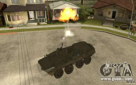 APCS of COD MW2 for GTA San Andreas side view