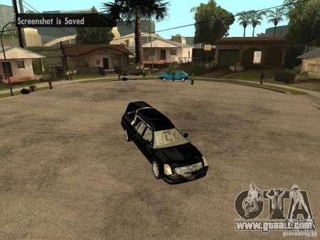 Cadillac DTS 2008 for GTA San Andreas right view