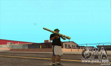 WEAPON BY SWORD for GTA San Andreas seventh screenshot