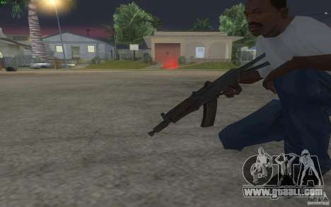 AKS-74U for GTA San Andreas forth screenshot
