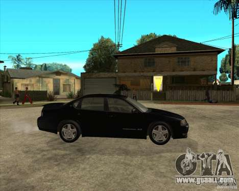 2003 Chevrolet Impala SS for GTA San Andreas right view