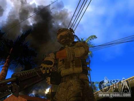 The M60E4 Machine Gun for GTA San Andreas second screenshot