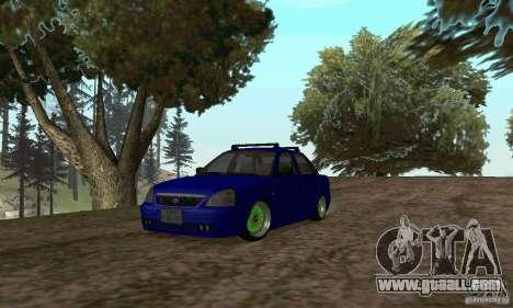 LADA 2170 JDM for GTA San Andreas