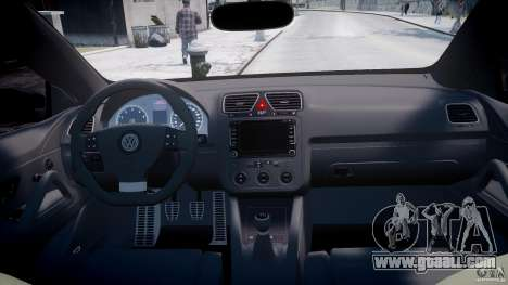 Volkswagen Scirocco III 2008 for GTA 4 right view