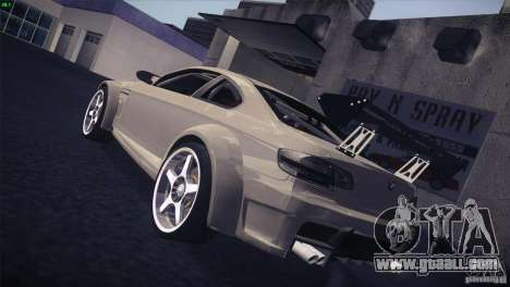 BMW M3 E92 Tuned for GTA San Andreas back view