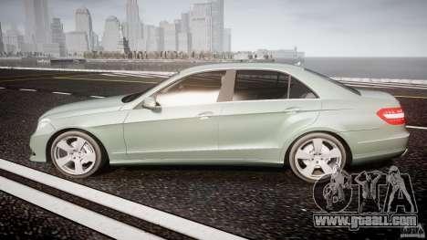 Mercedes-Benz E63 2010 AMG v.1.0 for GTA 4 left view