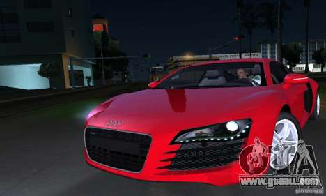 Audi R8 4.2 FSI for GTA San Andreas side view
