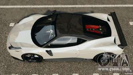 Ferrari 458 Italia 2010 [Key Edition] v1.0 for GTA 4 right view