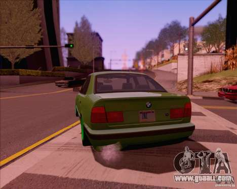 BMW M5 E38 for GTA San Andreas left view