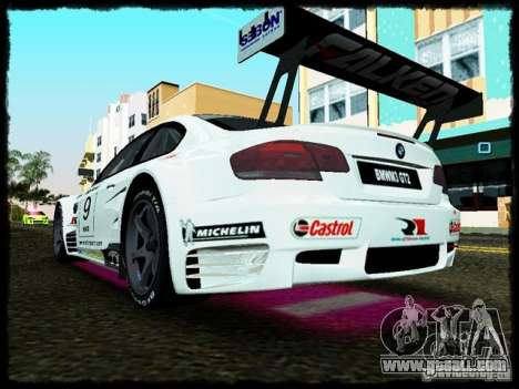 BMW M3 GT2 for GTA Vice City right view