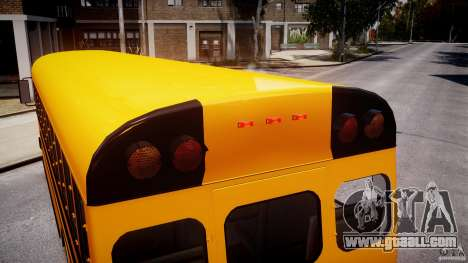 School Bus [Beta] for GTA 4 engine
