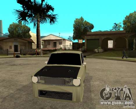 Vaz 2101 D-LUXE for GTA San Andreas back view