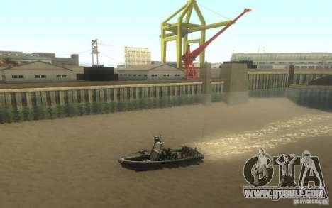 RHIB Boat for GTA San Andreas