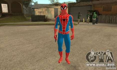 Spider Man From Movie for GTA San Andreas second screenshot