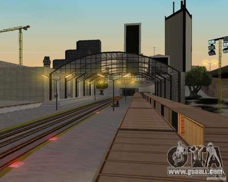 New railway station for GTA San Andreas ninth screenshot