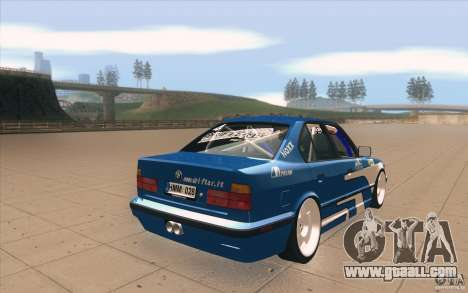 BMW E34 V8 for GTA San Andreas side view