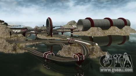 Stunt Speedway Park for GTA 4