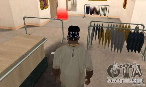 Bandana CS for GTA San Andreas third screenshot