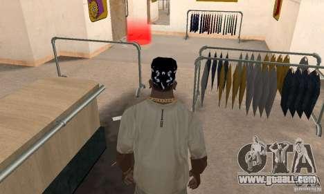 Bandana CS for GTA San Andreas third screenshot