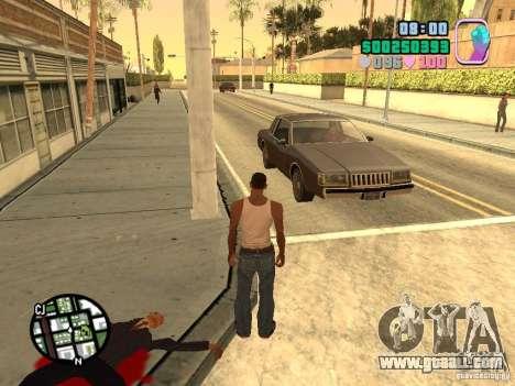 Vice City Hud for GTA San Andreas third screenshot