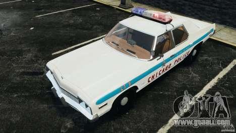 Dodge Monaco 1974 Police v1.0 [ELS] for GTA 4 wheels
