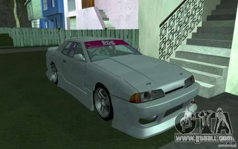 Elegy MS R32 for GTA San Andreas inner view