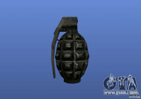 Grenade for GTA 4 third screenshot
