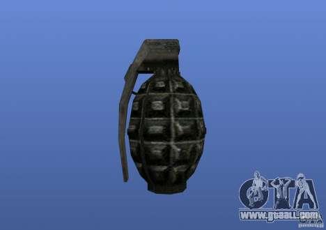 Grenade for GTA 4 third screenshot