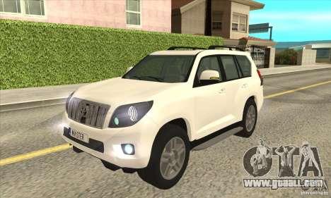 Toyota Land Cruiser Prado 150 for GTA San Andreas