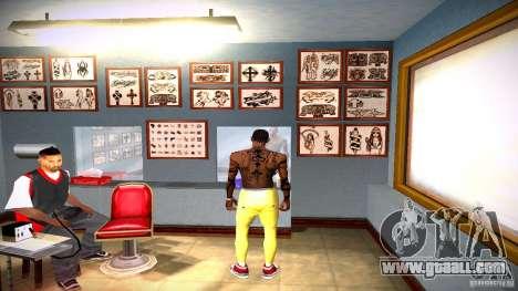Three new tattoo for GTA San Andreas tenth screenshot
