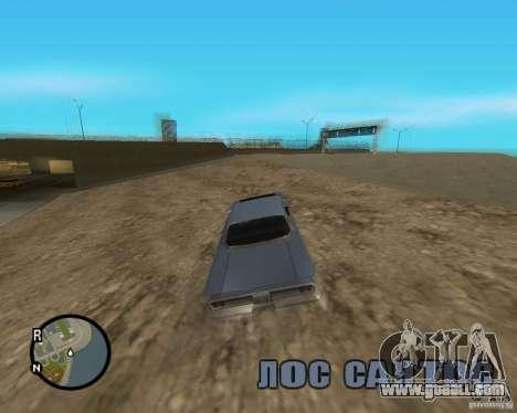 Detailed Map and Radar Mod for GTA San Andreas fifth screenshot
