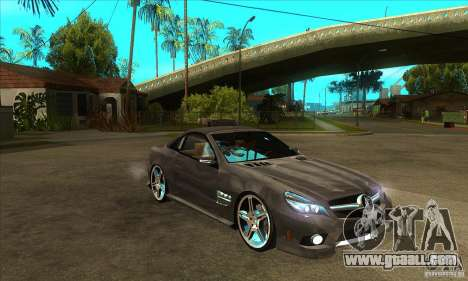 Mercedes-Benz SL65 AMG 2010 for GTA San Andreas back view