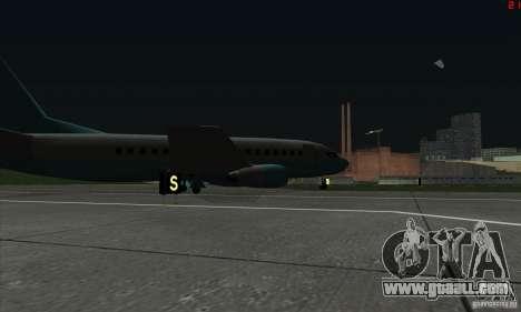 AT-400 in all airports for GTA San Andreas sixth screenshot