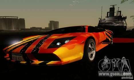 Lamborghini Murcielago for GTA San Andreas side view