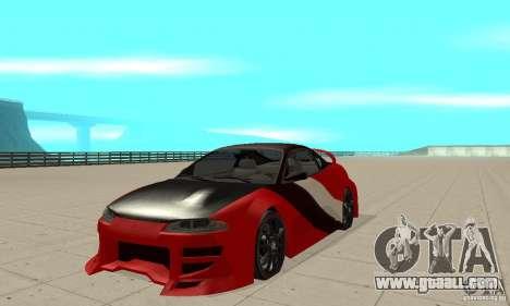 Mitsubishi Eclipse - Tuning for GTA San Andreas