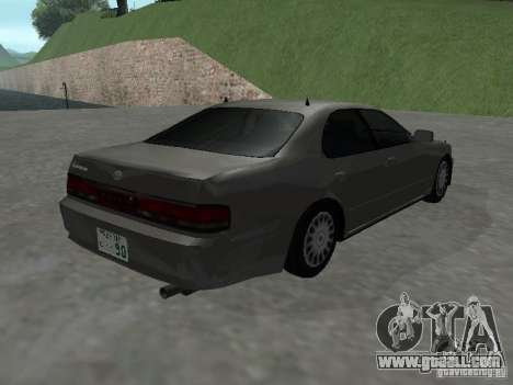 Toyota Cresta JZX 90 for GTA San Andreas back left view