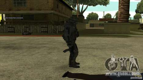 Roach from CoD MW2 for GTA San Andreas third screenshot
