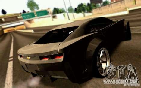 Chevrolet Camaro Tuning for GTA San Andreas left view