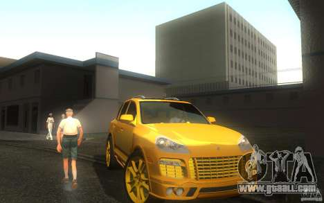 Porsche Cayenne gold for GTA San Andreas