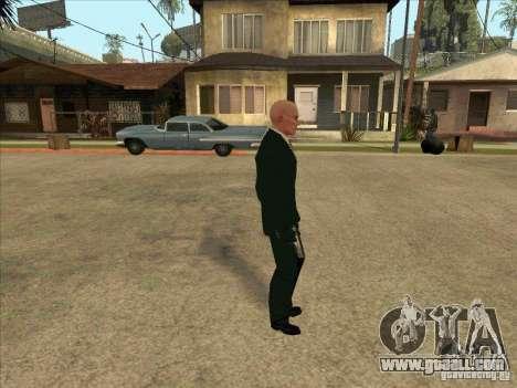 Hitman: Codename 47 for GTA San Andreas second screenshot