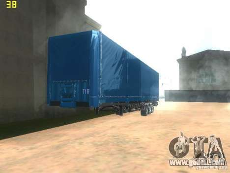 Nefaz-93341 trailer-10-07 for GTA San Andreas