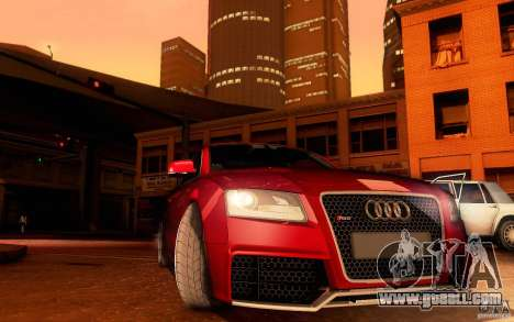 Audi RS5 for GTA San Andreas side view
