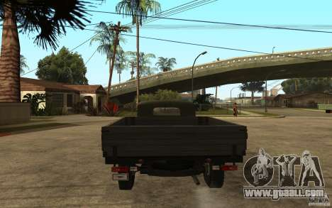 UAZ 300 for GTA San Andreas back left view