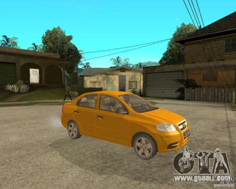 Chevrolet Aveo 2007 for GTA San Andreas right view