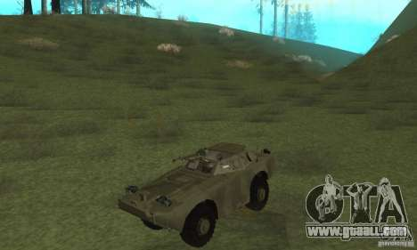 BRDM-1 Skin 3 for GTA San Andreas left view