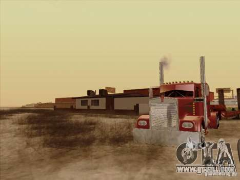 Kenworth W 900 1974 Custom for GTA San Andreas back view