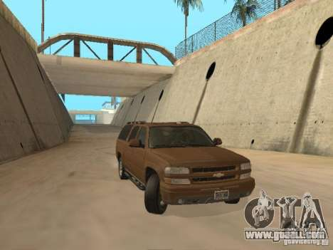 Chevrolet Suburban 2003 for GTA San Andreas left view